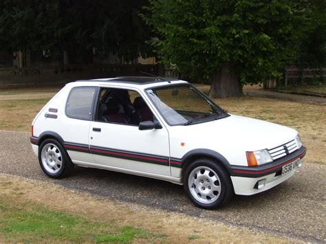 best peugeot cars peugeot 205 gti one of the best handling cars ever made