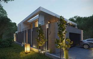 Modern Brick House by Modern Brick Exterior Interior Design Ideas