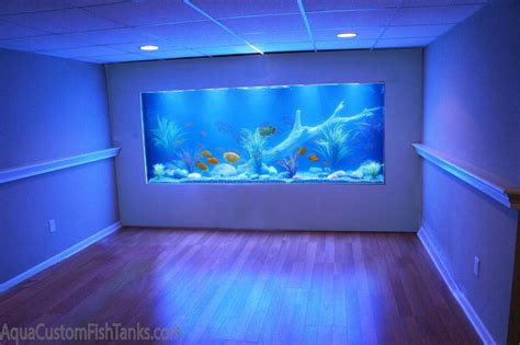 aquarium bedrooms aqua creations custom aquarium wall fish tank built into