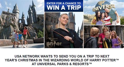 Today Harry Potter Sweepstakes - usa today christmas in the wizarding world of harry potter sweepstakes