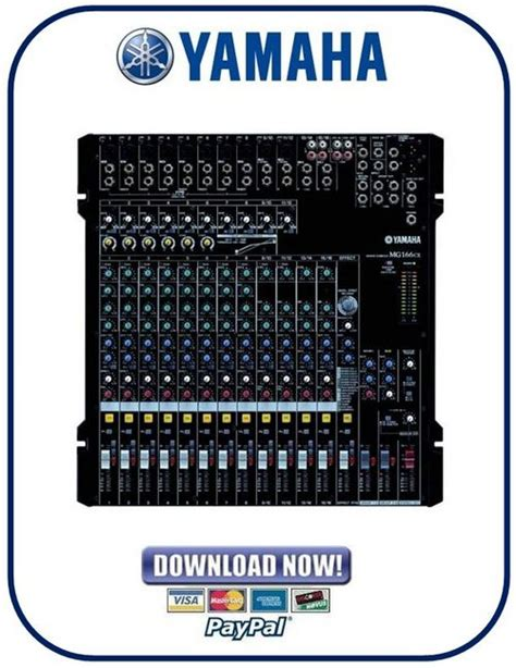 Mixer Yamaha Mg166cx Usb yamaha mg166cx mg166c usb mixing console service manual