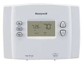 1 week programmable thermostat rth221b1021 honeywell