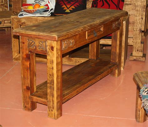 Sylvia Buffet Table @ Durango Trail Rustic Furniture