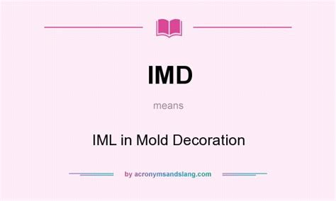 In Mold Decoration by Imd Iml In Mold Decoration In Undefined By