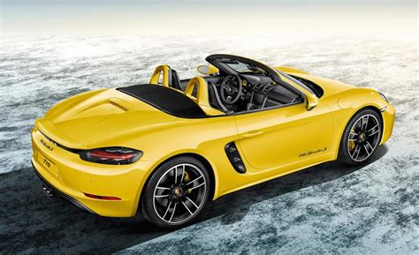 porsche boxster images new porsche 718 boxster new free engine image for user