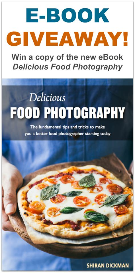 Food Giveaway - my food photography ebook giveaway pretty simple sweet
