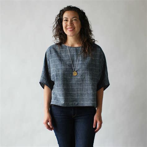 Blousee Kimono Ikat Tali susan eastman kimono crop in black dot ikat garmentory