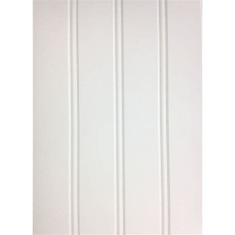 Pine Wainscoting Lowes Shop 7 24 In X 2 66 Ft Bead White Pine Mdf