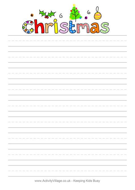 printable christmas list paper 8 best images of printable wish list stationery free