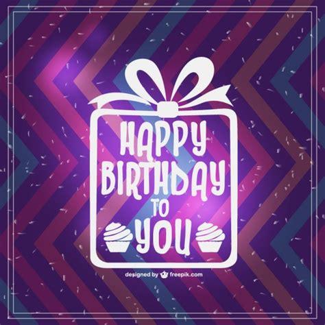 happy birthday retro design retro happy birthday vector card design vector free download