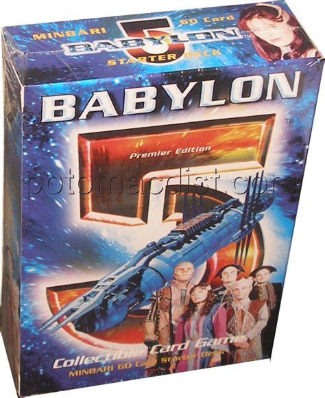 Babylen Decke by Babylon 5 Premier Starter Deck Set Minbari Potomac