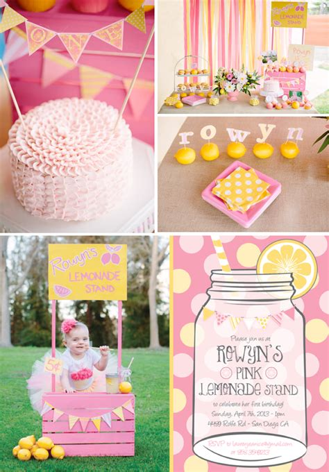 kara s party ideas 187 pink lemonade 1st birthday party