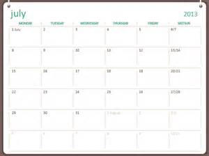 2013 2014 academic calendar july june office templates