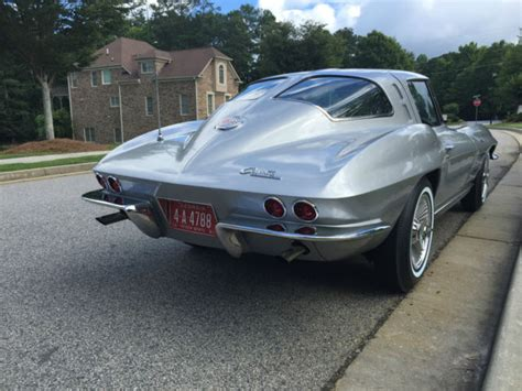 what year was the split window corvette made 1963 corvette split window coupe restomod classic