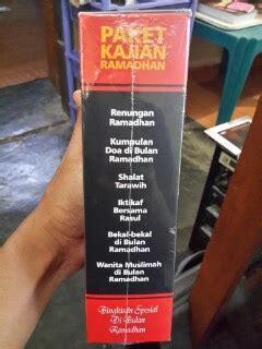 Paket Wanita Muslimah Isi 6 Buku Tema Wanita Tanpa Boxkotak paket kajian ramadhan kumpulan buku tema ramadhan toko muslim title