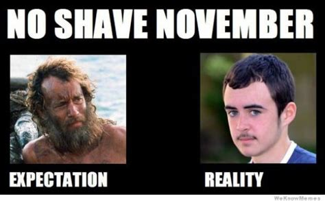No Shave November Meme - the bests and worsts of no shave november the best of