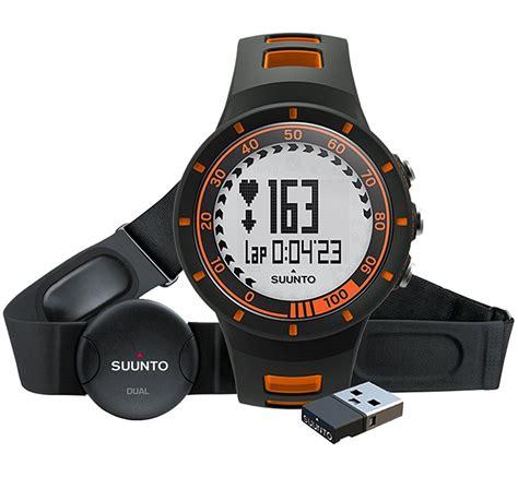 suunto dual comfort belt suunto quest hr orange watch with dual comfort belt and