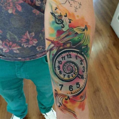 watercolor tattoo watch watercolor tattoos tattoos watercolors