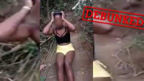 the truth behind the video of a young black woman being
