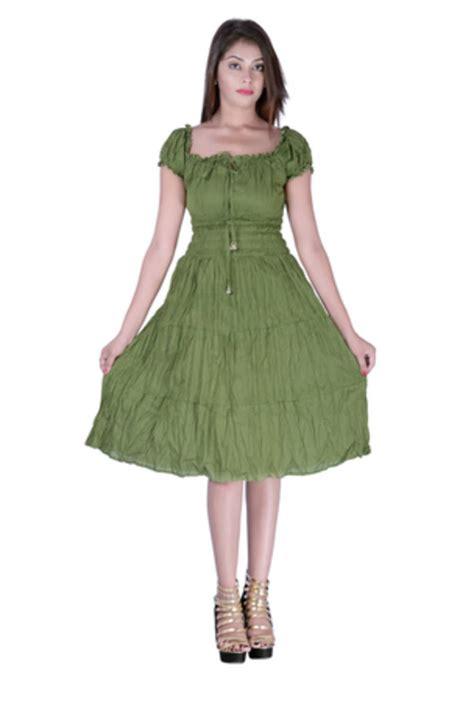 m m plain dress buy cotton plain m green tyre color dress
