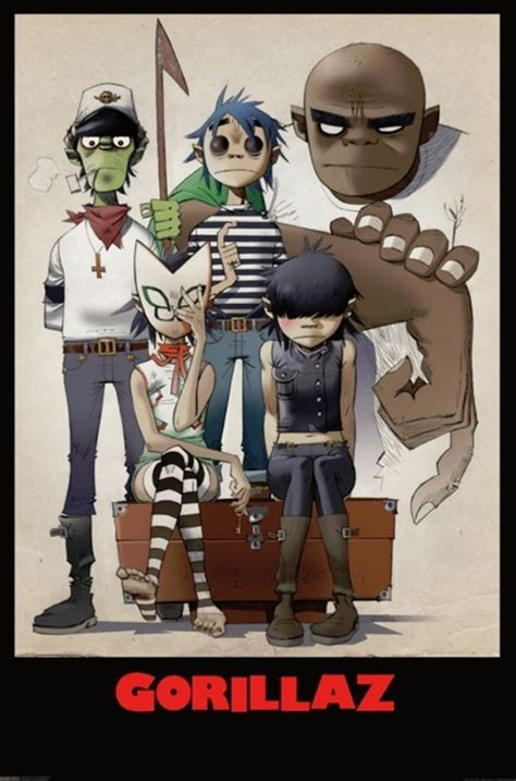 Get Your Gorillaz On by 25 Best Ideas About Gorillaz On Gorillaz 2 D