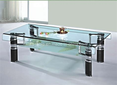Living Room Glass Tables | china bended glass coffee table living room furniture