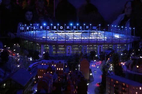 Minatur Arema hsh nordbank arena des hsv foto bild modell