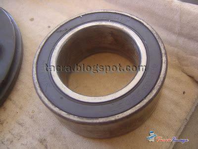 Tukar Compressor Viva Tacra S Diy Garage Ac Clutch Compressor Bearing