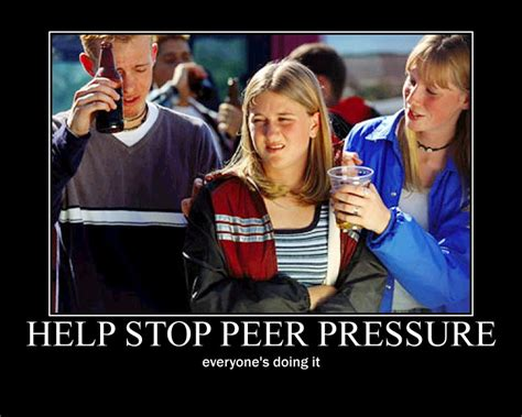 Underage Drinking Meme - can peer pressure be positive the zombie chimp