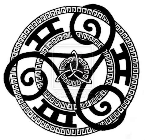 triskle symbols pinterest