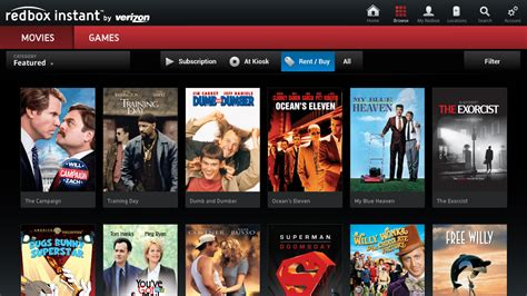 redbox app for android redbox instant by verizon arrives on tv talkandroid