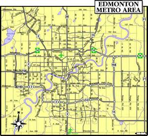 map of edmonton canada edmonton city map map of canada city geography