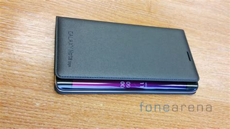 Original Samsung Flipwallet Galaxy Note Edge Cover samsung galaxy note edge flip wallet cover review