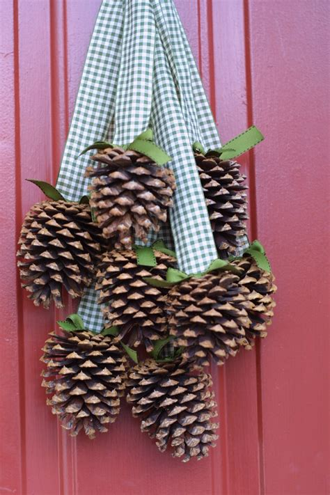 pine cone christmas ideas ashlee proffitt design 12 days of day 9