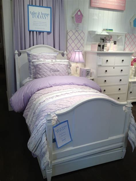 pottery barn twin bed white pottery barn girls bed twin furniture pinterest