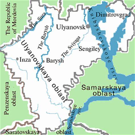 maps russia ulyanovsk ulyanovsk city russia travel guide