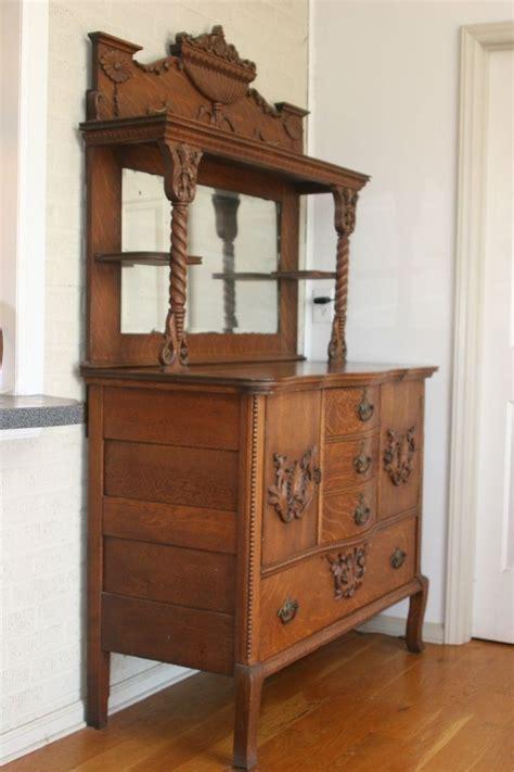antique buffet cabinet antique oak hutch highboy cabinet sideboard buffet w