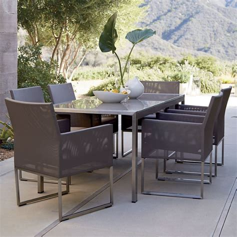 patio furniture crate and barrel outdoor seating solutions for