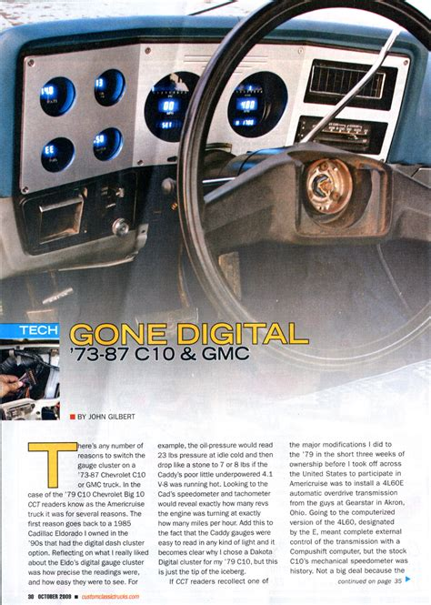 Size Of Garage dakota digital gauge installation