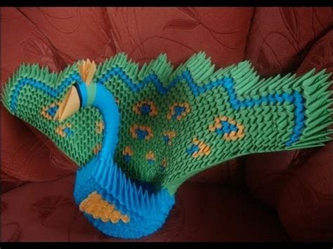 3d origami green peacock tutorial 699 best origami images on pinterest tutorials bowls