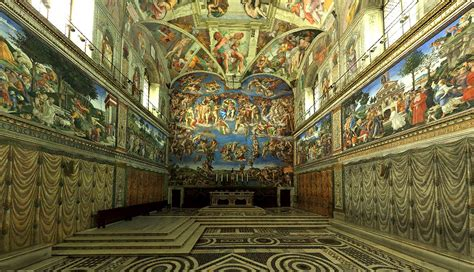 les louettes chapelle sixtine en 360 degr 233
