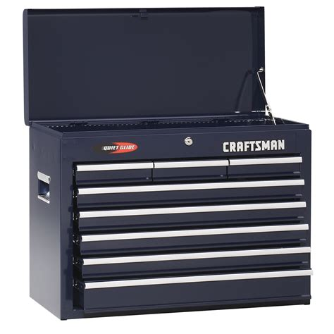 craftsman 6 drawer tool box quiet glide chest craftsman 8 drawer quiet glide chest midnight blue