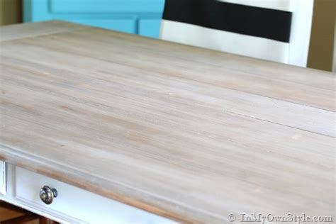 Can You Paint Kitchen Cabinets With Chalk Paint furniture makeover weathered driftwood furniture finish