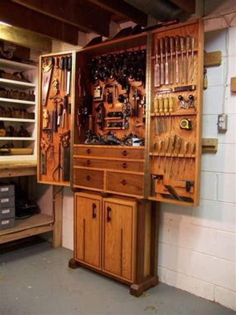 guide   hanging tool cabinet plans tom