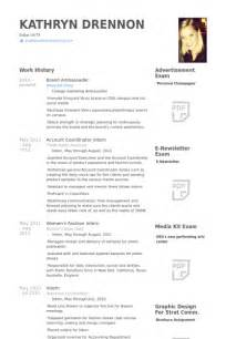 brand ambassador cv example visualcv resume samples database