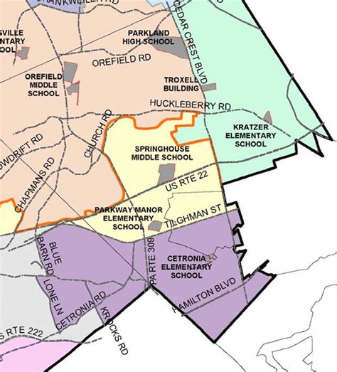 School District Search By Home Address West Allentown Homes