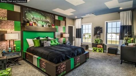 minecraft bedroom ideas  real life youtube