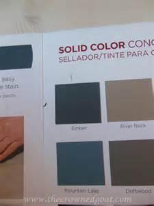 valspar concrete stain colors tips for painting a textured concrete patio