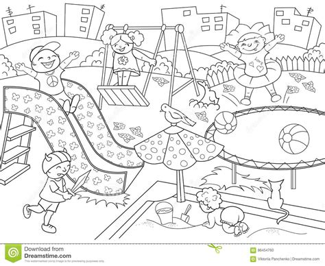 coloring pages school playground school playground coloring coloring pages