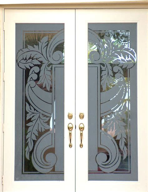 Rose Wood Furniture Etching Glass Designs Glass Door Etching Designs